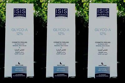 3 x Anti Aging Produkte GLYCO A 12% GlykolsäurePeel Multi-Action