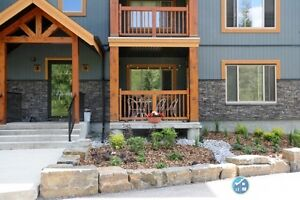 Beautiful Canmore condo with mountain views