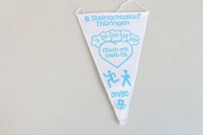 Original Vintage Pennant GDR Dwbo Steinachtallauf Brass Hammer '89 Thuringia