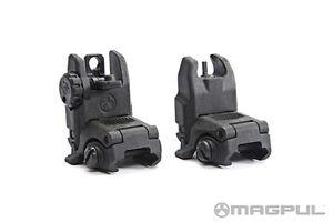 Magpul-MBUS-Gen-2-Black-Set-Front-Rear-Flip-Up-Back-Up-BUIS-Sights-NEW