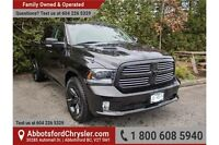 2015 RAM 1500 Sport w/- Leather Upholstery & Tow Package