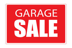 Apartment Garage Sale in Dorval