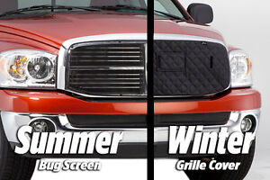 Custom-Fit Winter Front & Bug Screen Combination