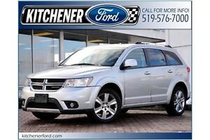 2011 Dodge Journey R/T ONLY 43K KM'S!!/AWD/LEATHER/ROOF/HEATE...