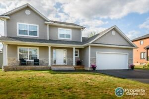 Stunning home located in the desirable area of Moncton North
