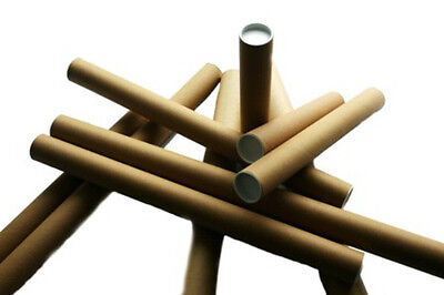 5x A3 A4 Poster Document Mailing Postal Tubes 2 x 13