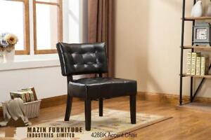 Black Accent Chair (MA739)