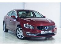 Volvo S60 D3 SE LUX (red) 2014