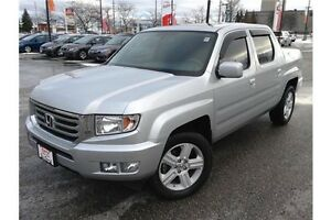 2013 HONDA RIDGELINE TOURING - AWD - LEATHER INTERIOR - GPS NAV