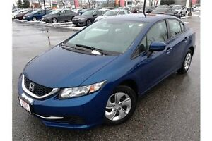 2014 HONDA CIVIC LX - AUTOMATIC TRANSMISSION - CLOTH INTERIOR