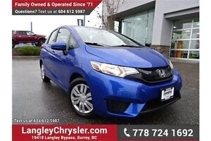 2015 Honda Fit LX LOCALLY DRIVEN & ACCIDENT FREE