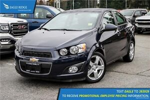 2016 Chevrolet Sonic LT Auto Sunroof and Heated Seats