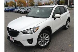 2014 MAZDA CX-5 GT - AWD - LEATHER - GPS NAV - REARVIEW CAM