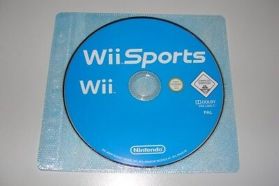 Wii Sports (seul disque) Nintendo jeu jeux game games spelletjes spellen 2581