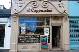 Supervisor needed for busy sandwich deli in Glasgow's Westend