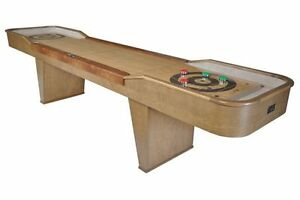 NEW 12'' SHUFFLEBOARD DELUXE BIRCH