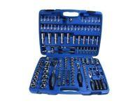 """BERGEN Tools 171pc 1/4"""" 3/8"""" 1/2"""" SUPERLOCK Socket Set NEW"""
