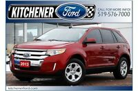 2013 Ford Edge SEL/LEATHER/PANO ROOF/CAMERA/WINTER TIRES INC