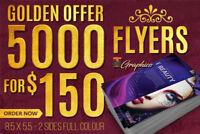 5000 Flyer for $150 (London)