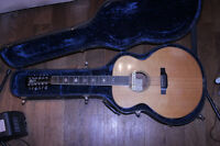 Larrivee 12 string made in Victoria era