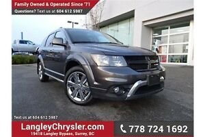 2014 Dodge Journey Crossroad LOCALLY DRIVEN & ACCIDENT FREE