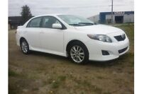 2010 Toyota Corolla S Perfect car, low price low payments!