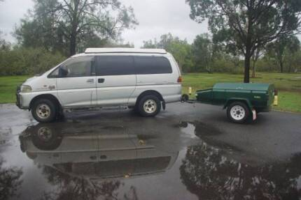 Delica 4x4 LWB PopTop - phone calls only!