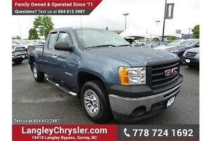 2011 GMC Sierra 1500 WT w/ Air Conditioning & 4.3L V6