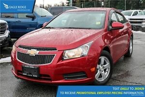2011 Chevrolet Cruze LT Turbo AM/FM Radio and Air Conditioning