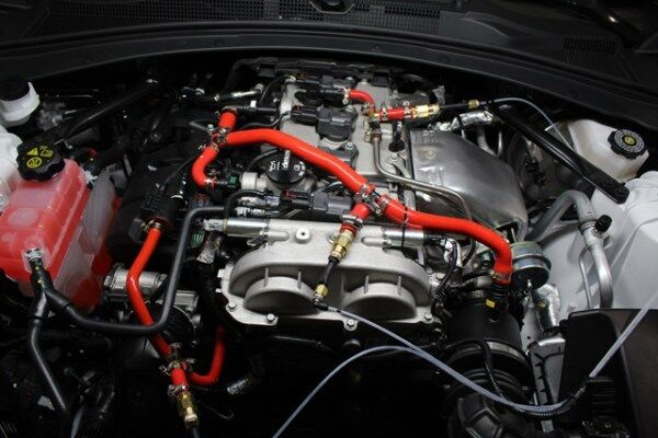 Many modern vehicles use complex PCV systems to vent blow-by from the crankcase.