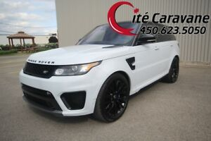 Range Rover SVR V8 5.0L Supercharged  SVR Yulong White + Black T