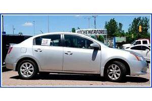 2012 Nissan Sentra 2.0 S 2.0L/AUTO/AC/PWR GROUP/ALLOYS Kitchener / Waterloo Kitchener Area image 4