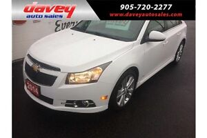 2014 Chevrolet Cruze 2LT RS PACKAGE, LEATHER, SUN ROOF