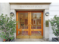Two Bedroom Flat, Beauchamp Place, SW3