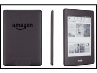 """New & Sealed - Kindle Paperwhite Black 6"""" WiFi 4GB with High-Res Display & Light with 1yr warranty"""