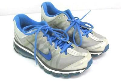 26d5c3218 Nike Trainers Women s Size 7.5 Silver   Blue