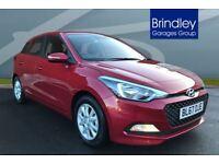 Hyundai I20 1.2 SE 5dr (red) 2017