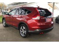 HONDA CR-V 2.0 i-VTEC EX 5dr (red) 2015