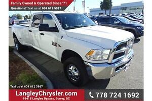 2014 RAM 3500 SLT W/MANUAL TRANSMISSION & REAR CAMERA