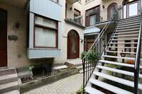 Chateau Esplanade: large two storey condo steps from Mount Royal