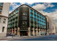 LONDON Office Space To Let - EC4M Flexible Terms | 2-58 People