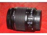 Canon EFS 18mm-55mm lens