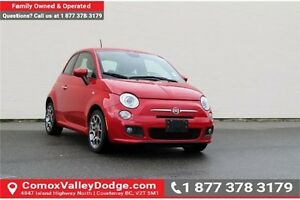 2015 Fiat 500 Sport A/C, AM/FM/CD/MP3, KEYLESS ENTRY