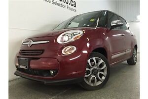 2015 Fiat 500L LOUNGE- TURBO! SUNROOF! LEATHER! NAV! U-CONNECT! Belleville Belleville Area image 3
