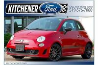 2013 Fiat 500 Abarth|ONLY 34K KM'S! LEATHER|ROOF|5 SPD MANUAL|TU