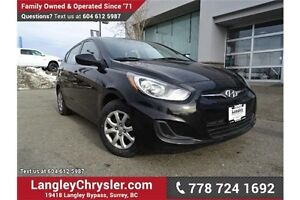 2013 Hyundai Accent GL ACCIDENT FREE w/ 6-SPEED MANUAL