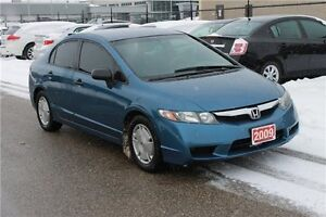 2009 Honda Civic DX-G | CERTIFIED + E-Tested Kitchener / Waterloo Kitchener Area image 7