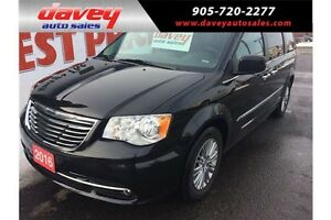 2016 Chrysler Town & Country Touring-L DVD, STO N GO, LEATHER...