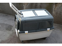 Transport pet carrier, Travel crate , dogs and cats Kennel, cage