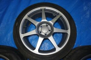 JDM Subaru 5x100 Rims &Tires Available 17 WRX Forester Legacy